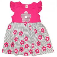 """10-13801 """"Летнее настроение"""" платье для девочки, 1-3 года, малиновый"""