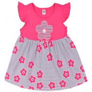 """10-138801 """"Летнее настроение"""" платье для девочки, 1-3 года, фуксия"""