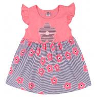 """10-138805 """"Летнее настроение"""" платье для девочки, 1-3 года, розовый"""
