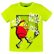 10-140117 Футболка для мальчика, 1-4 года, салатовый