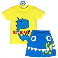 "10-142174 ""DINO"" Комплект для мальчика, 1-4 года, св-желтый\голубой"