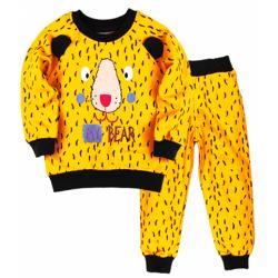 "10-148118 ""My Bear"" Костюм для мальчика, 1-4 года, желтый"