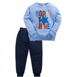 "10-148127 ""STARS"" Костюм для мальчика, 1-4 года, голубой\синий"