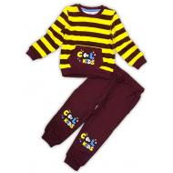 10-258106 Костюм для мальчика, 2-5 лет, желтый