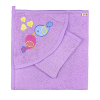 10-3305 Комплект для купания (полотенце+рукавичка)