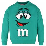 """10-37123 """"M"""" Джемпер для мальчика, 3-7 лет, зеленый"""