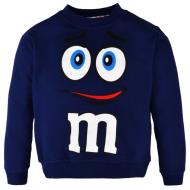 "10-37125 ""M"" Джемпер для мальчика, 3-7 лет, темно-синий"