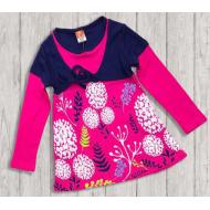 10-37802 Платье для девочки, 3-7 лет, сиреневый