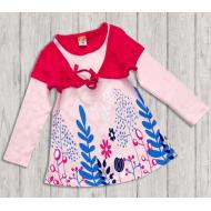 10-37804 Платье для девочки, 3-7 лет, св-розовый