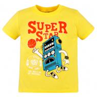 10-580102 Футболка для мальчика, 5-8 лет, желтый