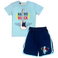 """10-582181 """"HARD ROCK"""" Комплект для мальчика, 5-8 лет, голубой\синий"""