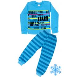 "10-148138 ""BOARD"" Пижама с начесом, 1-4 года"