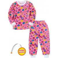 """09-25807 """"SEA TRIP"""" Пижама для девочки, 2-5 лет, розовый"""
