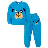 09-588104 Пижама для мальчика, 5-8 лет, бирюзовый
