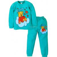 09-588108 Пижама для мальчика, 5-8 лет, аквамарин