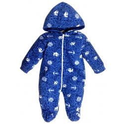 11-037 Комбинезон флисовый для малышей