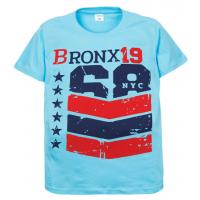 """11-10130115 """"Bronx"""" футболка для мальчиков, 10-13 лет, бирюзовый"""