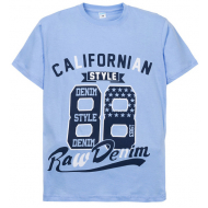 """11-10130117 """"88"""" футболка для мальчиков, 10-13 лет, голубой"""