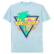 """11-10130203 """"Florida"""" футболка для девочек, 10-13 лет, св-голубой"""