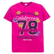 """11-10130204 """"California"""" футболка для девочек, 10-13 лет, лиловый"""