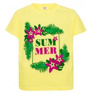 """11-10130205 """"Sammer"""" футболка для девочек, 10-13 лет, св-желтый"""