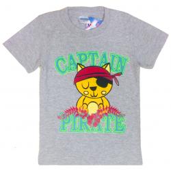 "11-140162 ""Pirate"" Футболка, 1-4 года, серый"