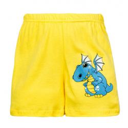 """11-141404 """"DRAGON"""" Шорты для мальчиков, 1-4 года, желтый"""