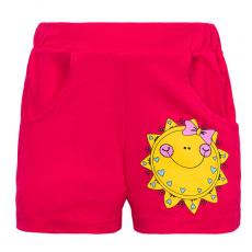 """11-142402 """"SUN"""" Шорты для девочек, 1-4 года, коралловый"""