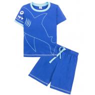 "11-143131 ""Акула"" Костюм для мальчика, 1-4 года, синий"