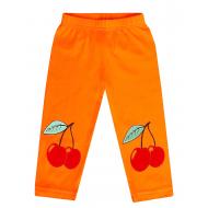 11-14632 Лосины для девочки, 1-4 года, оранжевый