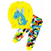 "11-148142 ""Dragon"" Пижама для мальчика 1-4 года, желтый"