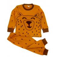 """11-148151 """"Safari bear"""" Пижама для мальчика, 1-4 года, коричневый"""