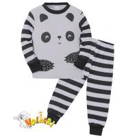 "11-148153 ""Safari panda"" Пижама для мальчика, 1-4 года, серый"