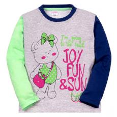"""11-251230 """"JOY FUN"""" Джемпер для девочки, 2-5 лет"""