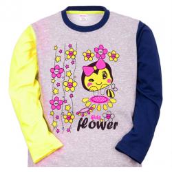 """11-251231 """"FLOWER"""" Джемпер для девочки, 2-5 лет"""