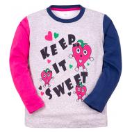 """11-251234 """"Strawberry"""" Джемпер для девочки, 2-5 лет"""