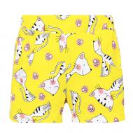 """11-252404 """"CAT"""" Шорты для девочек, 2-5 лет, желтый"""