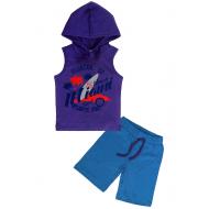 """11-253145 """"Miami"""" Костюм для мальчика, 4-7 лет, фиолетовый"""