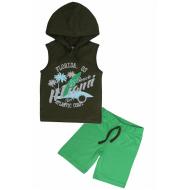 """11-253146 """"Miami"""" Костюм для мальчика, 4-7 лет, т-зеленый"""
