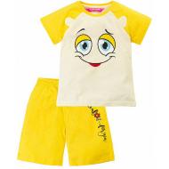 "11-253207 ""Spesial For You"" комплект с шортами, 2-5 лет, желтый"