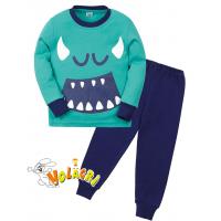 "11-258150 ""Monsters"" Пижама для мальчика 2-5 лет"