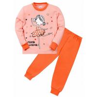 """11-258257 """"Prima"""" пижама для девочки, 2-5 лет, коралловый\розовый"""