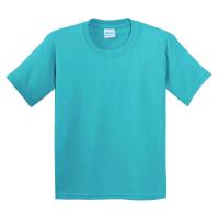 15-14005012 футболка однотонная 1-4 года, бирюза