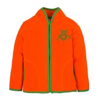 11-371201 Толстовка на молнии, флис, оранжевый