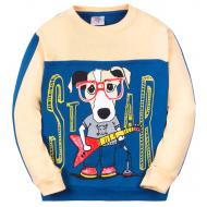 """11-3711051 """"Star dog"""" Джемпер для мальчика, 3-7 лет"""