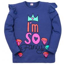 "11-371204 ""FANCY"" Джемпер для девочки, 3-7 лет, синий"