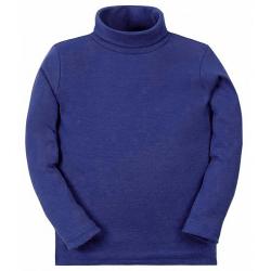 11-37149 Водолазка однотонная, 3-7 лет, т-синий