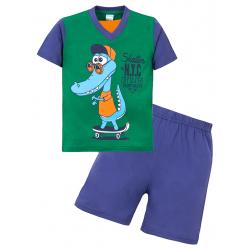 """11-372112 """"Skater"""" комплект для мальчика, 3-7 лет, зеленый\синий"""