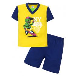 """11-372113 """"Robot"""" комплект для мальчика, 3-7 лет, желтый\синий"""