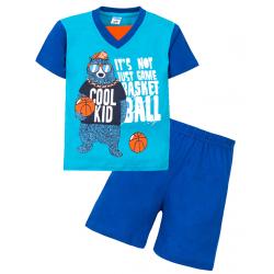 """11-372115 """"Coll Kid"""" комплект для мальчика, 3-7 лет, голубой\бирюза"""